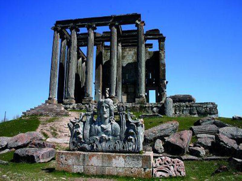 Eskişehir Kütahya Aizonai Antik Kenti Turu